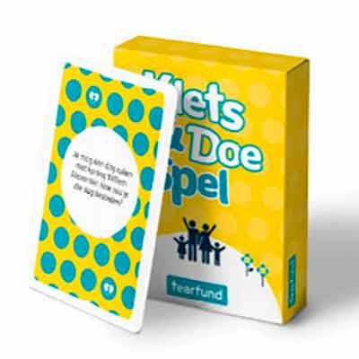 Бесплатная карточная игра Chat & Do Game от Tearfund