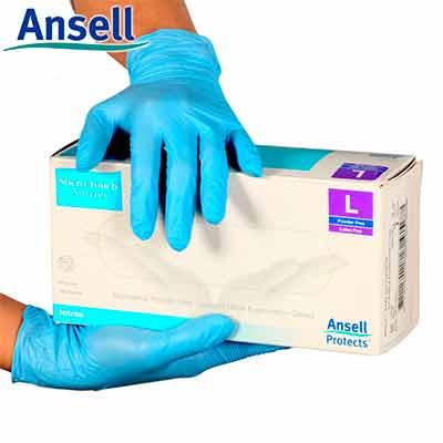 Бесплатные Одноразовые Перчатки от ANSELL
