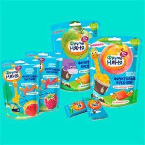 Бесплатный месячный запас фруктовых кусочков ФрутоНяня
