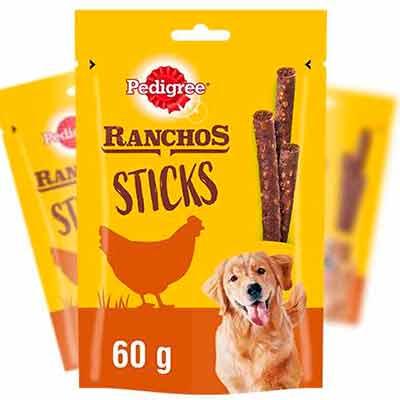 Бесплатный Образец Закуски для Собак RANCHOS Sticks от PEDIGREE