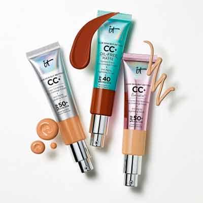 Бесплатный Пробник Крема CC+ от IT Cosmetics
