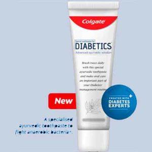 Бесплатная Зубная Паста Colgate для Диабетиков