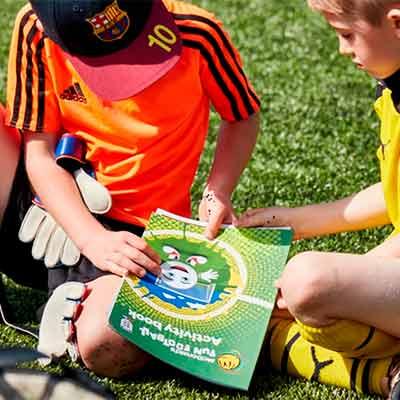 Бесплатный Детский Учебник по Футболу