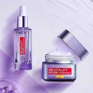 Бесплатный Крем Revitalift Filler SPF 50 от L'Oréal Paris