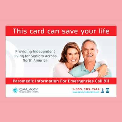 Бесплатный Магнит от Galaxy Medical Alert Systems