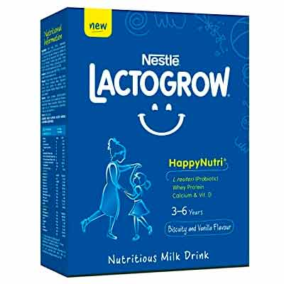 Бесплатный Образец Напитка Nestlé LACTOGROW