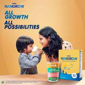 Бесплатный Образец Напитка Nestlé NANGROW
