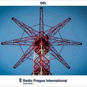 Бесплатная Открытка (QSL карта) от Radio Prague International