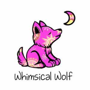 Бесплатные Наклейки Whimsical Wolf
