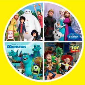 Бесплатный Набор Учебников для Детей от Disney