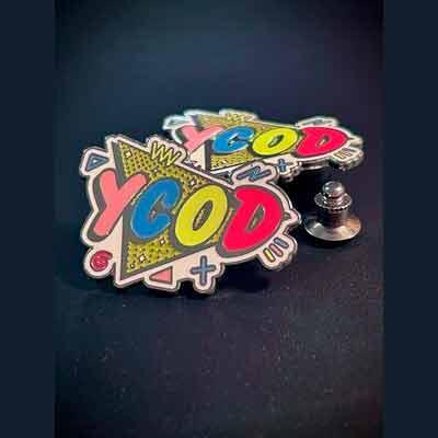 Бесплатный Значок или Стикер YCOD