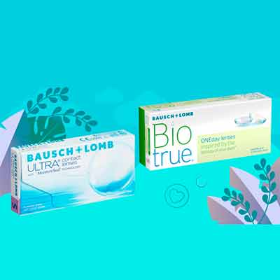Бесплатные Контактные Линзы Bausch+Lomb