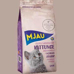 Бесплатный Корм для Котят Mjau
