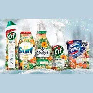 Бесплатный Набор Чистящих Средств от Unilever